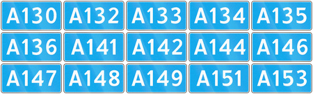 federal: Collection of road shields of Russian federal routes.