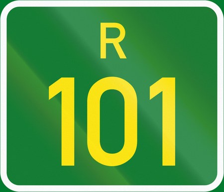 regional: South Africa Regional Route shield - R101.