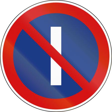 odd: No Parking On Odd Calender Days in Slovenia.