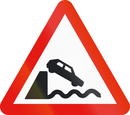 dock: Road sign used in Spain - Dock.