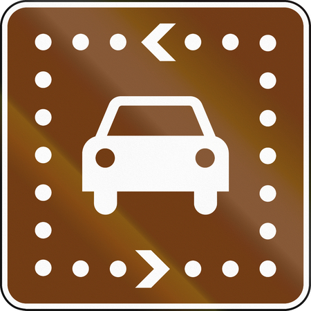 informational: United States MUTCD guide road sign - Driving Tour.