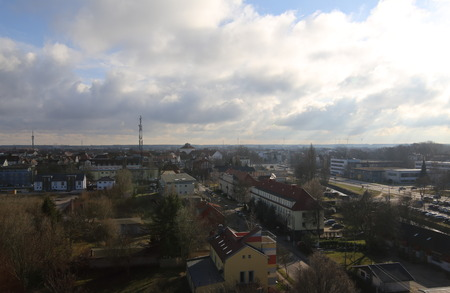 greifswald: Overview over the Hanseatic city of Greifswald.