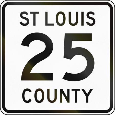 county: Minnesota county route shield - St. Louis County.
