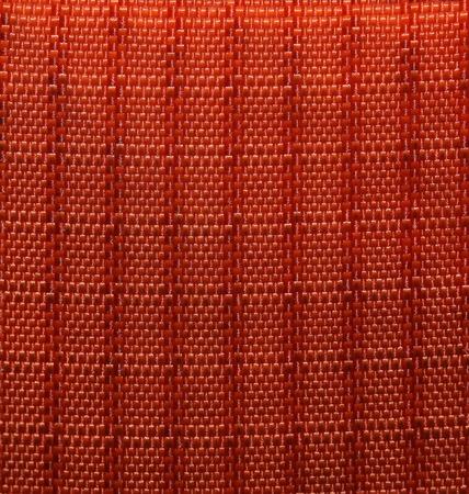 synthetic fiber: Macro shot of a green synthetic fiber textile. Stock Photo