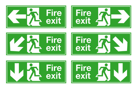 clue: fire exit