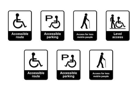 discriminacion: Signos de ley sobre la discriminaci�n de discapacidad