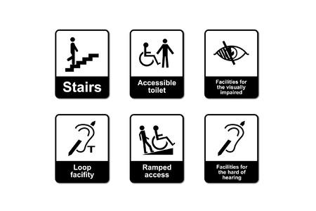 Een handicap Discrimination Act tekenen