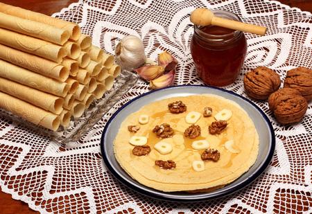 wafers: Traditional Christmas wafers