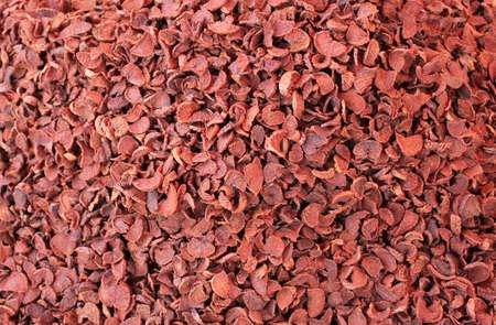 deceptive: pile of ripe areca-nut