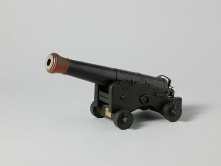 Model of a Gun and CarriageModel of a Gun and Carriage, 19th century arms