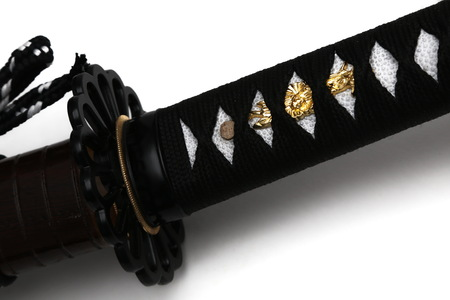 Tsuka : handle of Japanese sword