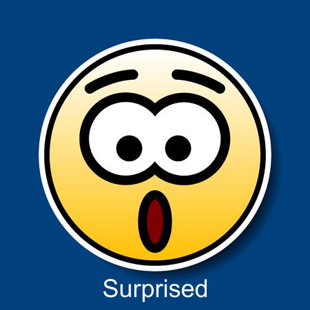 wonderment: Vector Smiley Surprised
