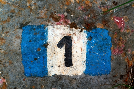 Number that helps keeping track of the path in mountain, or during a trip