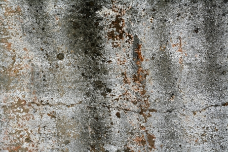 Grey wall background, old and ruined