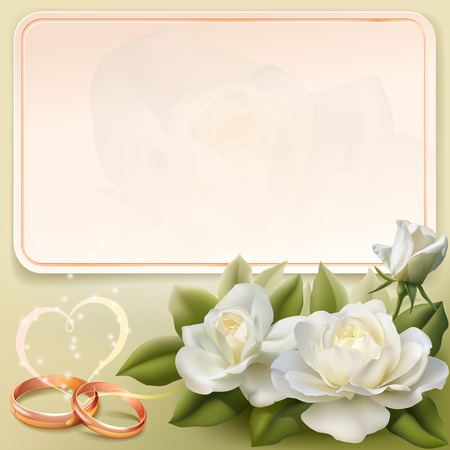 Invitation card for wedding