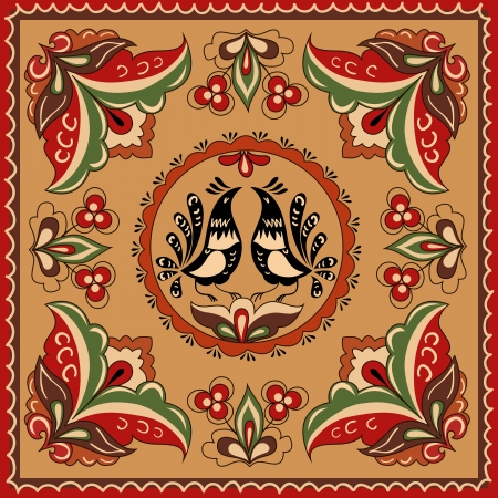 Russian traditional ornament Stock Vector - 16840514