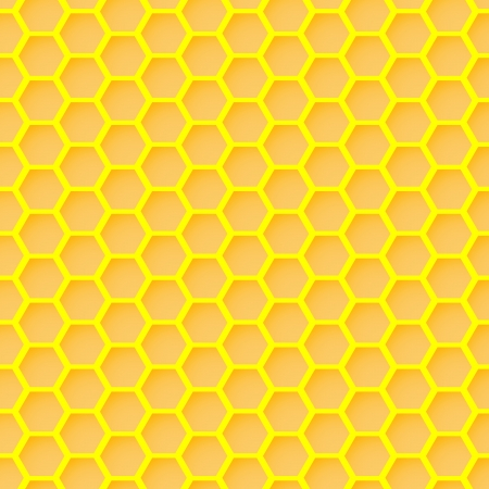 honeycomb seamless wallpaper Stock Vector - 17188326