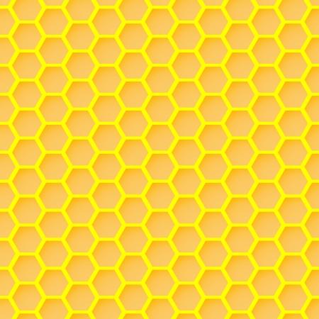 Waben seamless wallpaper Standard-Bild - 17188326