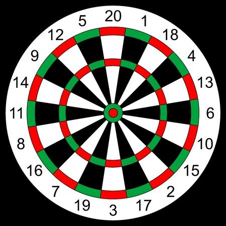 dart on target: darts background