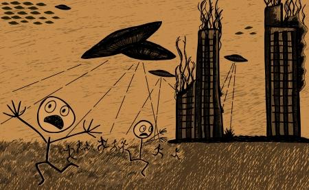 abduct: Aliens invasion