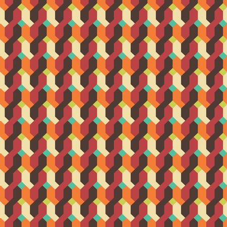 Retro nahtlose Muster Standard-Bild - 71065499