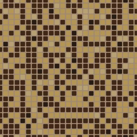 Nahtlose Muster mit Mosaik-Effekt Standard-Bild - 70793093
