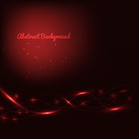 Zusammenfassung roten Hintergrund mit Linien und Lichter Standard-Bild - 79018410