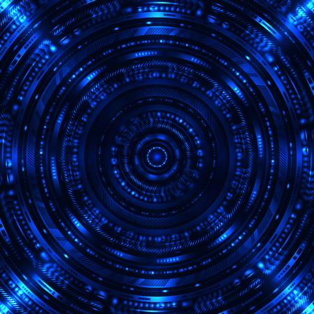 Zusammenfassung Sci Fi Hintergrund Standard-Bild - 79082368