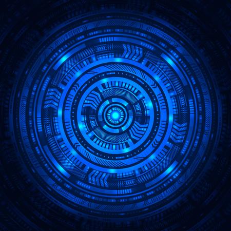 Zusammenfassung Sci Fi Hintergrund Standard-Bild - 79085014