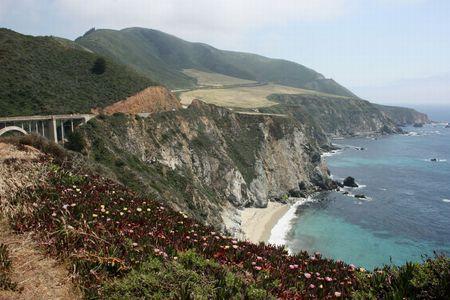 big sur: Big Sur in California Stock Photo