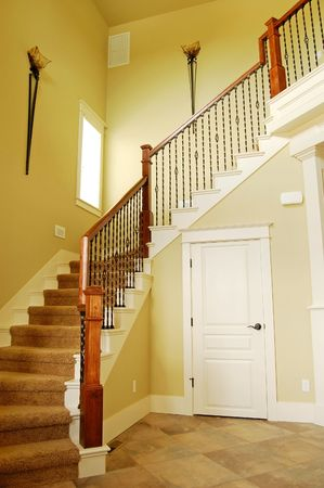 stairwell: Beautiful Interior Stairwell Stock Photo
