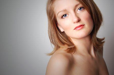 Glamorous Blond Model photo