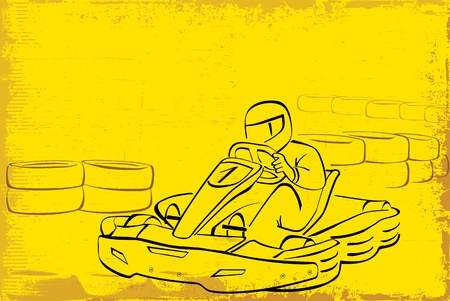 kart: go kart background