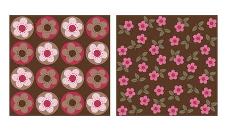 flowered: flowery patterns