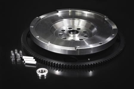 flywheel: Flywheel with starter ring gear