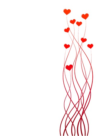 valentine background with space for text Stock Vector - 4333972