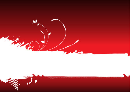 Abstract red background, banner Stock Vector - 4333977