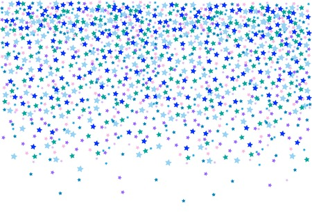 konfeti: confetti, vector illustration
