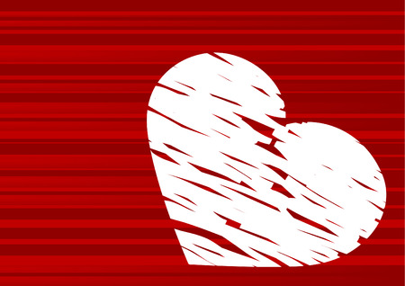 Valentine's day abstract with space for a text Stock Vector - 4334134