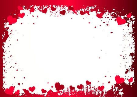 valentine background with space for text Stock Vector - 4334125