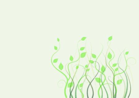 floral background, meadow, garden, grass Stock Vector - 4376661