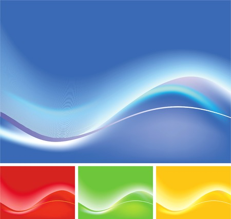 Abstract background - psychedelic Vector