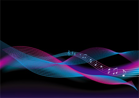 abstract background - music Vector