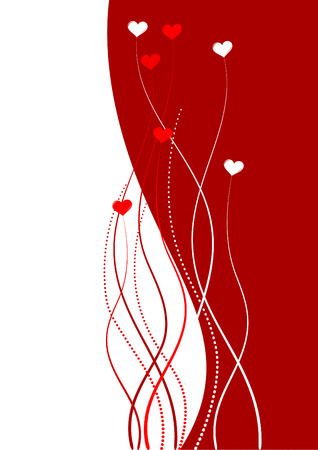 valentine background with space for text Stock Vector - 4376687