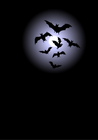 harvest moon: Halloween background, moon