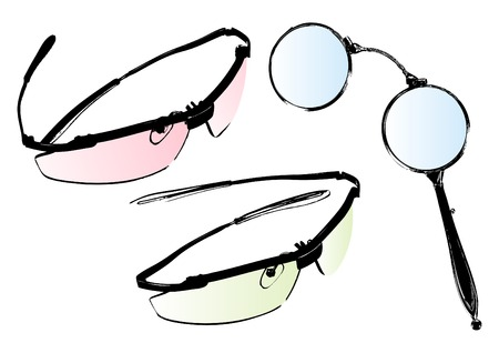 glasses and spectacles vector Stock Vector - 4531218
