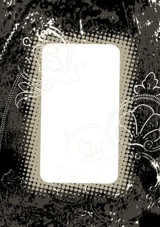 res: Grunge frame and border series