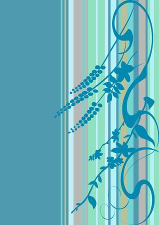 abstract flowers, meadow, garden Stock Vector - 5099013