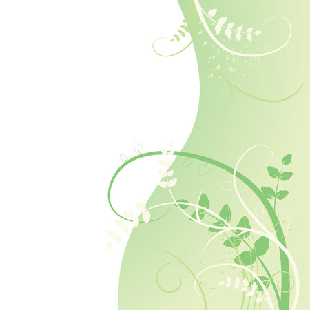 real grass silhouette - summer background Stock Vector - 5109752