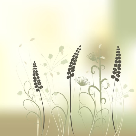 floral background, meadow Stock Vector - 5196762